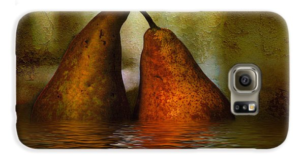 Pears In Water Galaxy S6 Case by Kaye Menner