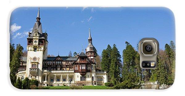 Peles Castle, Sinaia, Carpathian Galaxy S6 Case by Martin Zwick