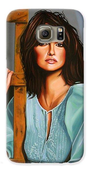 Penelope Cruz Galaxy S6 Case by Paul Meijering