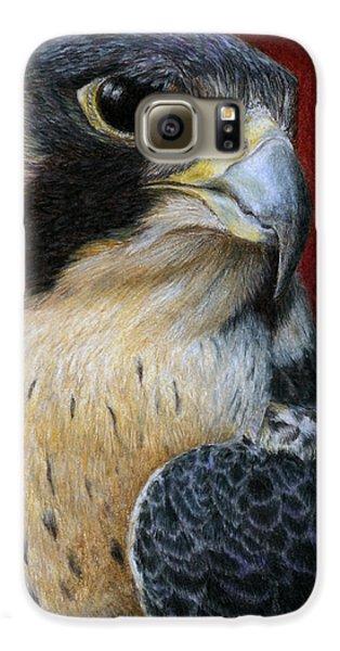 Peregrine Falcon Galaxy S6 Case by Pat Erickson