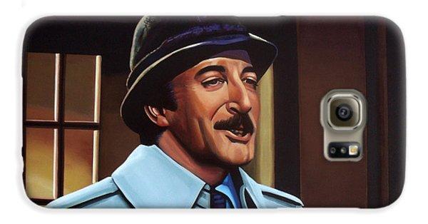 Peter Sellers As Inspector Clouseau  Galaxy S6 Case by Paul Meijering
