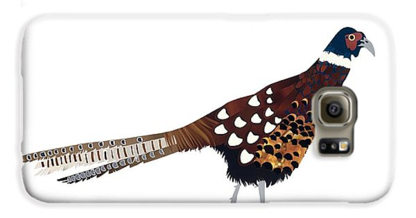 Pheasant Galaxy S6 Case by Isobel Barber