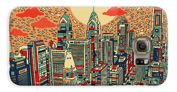 Philadelphia Dream Galaxy S6 Case by Bekim Art