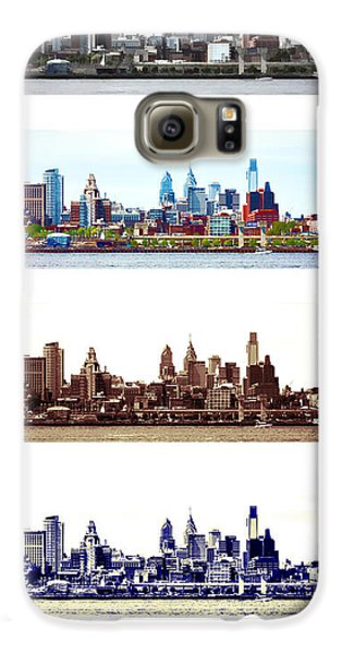Philadelphia Four Seasons Galaxy S6 Case by Olivier Le Queinec