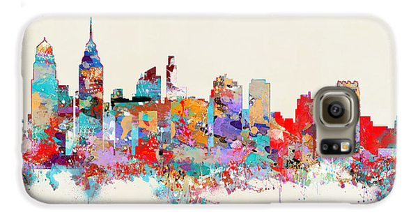 Philadelphia Skyline Galaxy S6 Case by Bri B