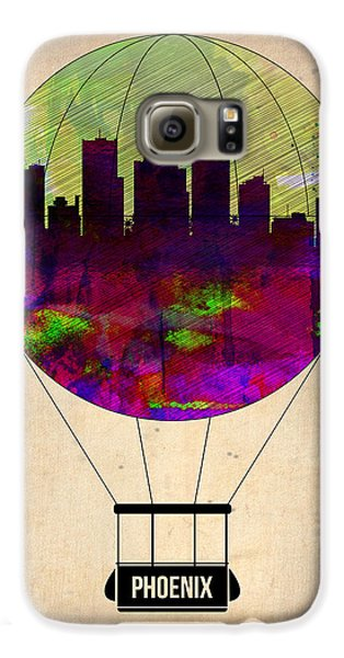 Phoenix Air Balloon  Galaxy S6 Case by Naxart Studio