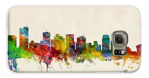 Phoenix Arizona Skyline Galaxy S6 Case by Michael Tompsett