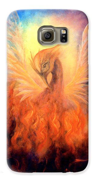Phoenix Rising Galaxy S6 Case by Marina Petro