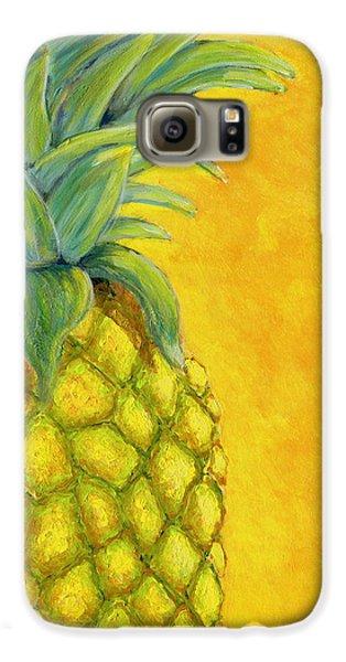 Pineapple Galaxy S6 Case by Karyn Robinson