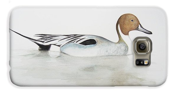 Pintail Duck Galaxy S6 Case by Ele Grafton