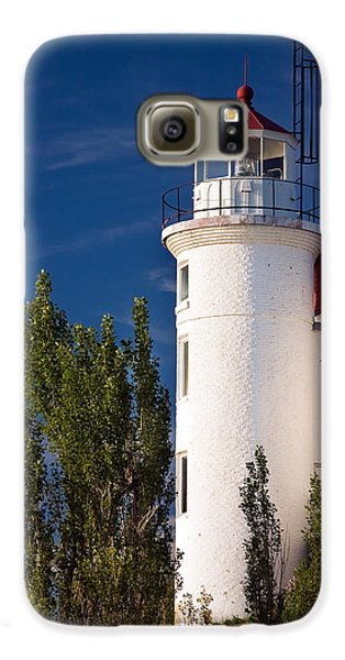 Point Betsie Lighthouse Michigan Galaxy S6 Case by Adam Romanowicz