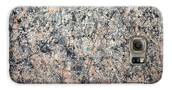 Pollock's Number 1 -- 1950 -- Lavender Mist Galaxy S6 Case by Cora Wandel