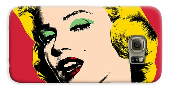 Pop Art Galaxy S6 Case by Mark Ashkenazi