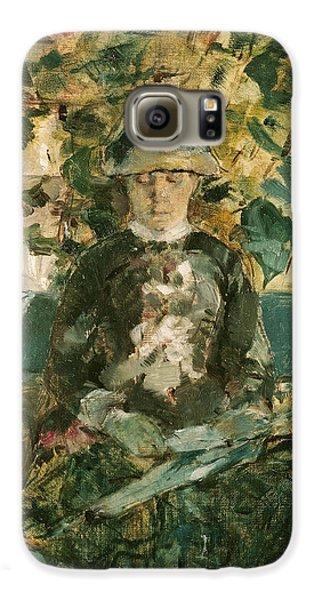 Portrait Of Adele Tapie De Celeyran Galaxy S6 Case by Henri de Toulouse-Lautrec