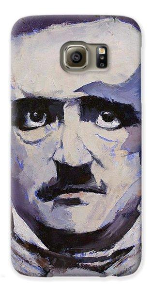 Edgar Allan Poe Galaxy S6 Case by Michael Creese