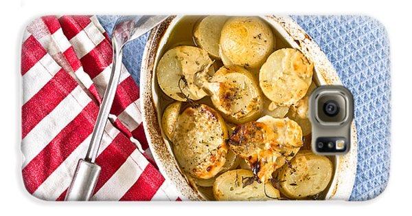 Potato Dish Galaxy S6 Case by Tom Gowanlock