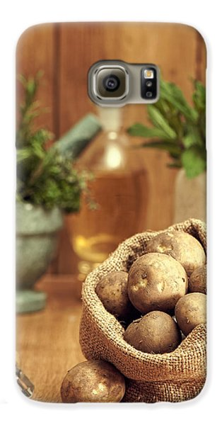 Potatoes Galaxy S6 Case by Amanda Elwell