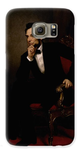 President Lincoln  Galaxy S6 Case by War Is Hell Store