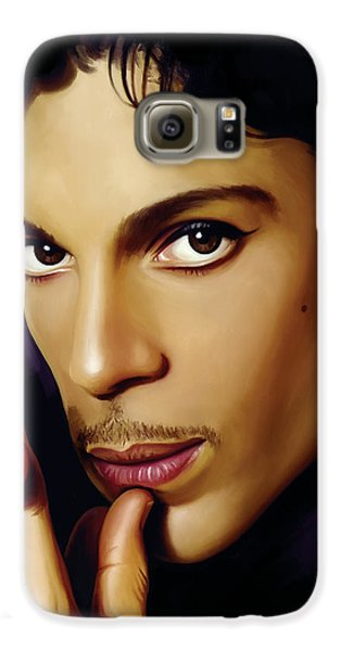 Prince Artwork Galaxy S6 Case by Sheraz A