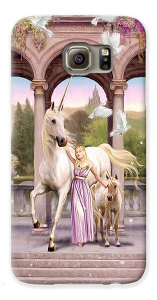 Princess Of The Unicorns Variant 1 Galaxy S6 Case by Garry Walton