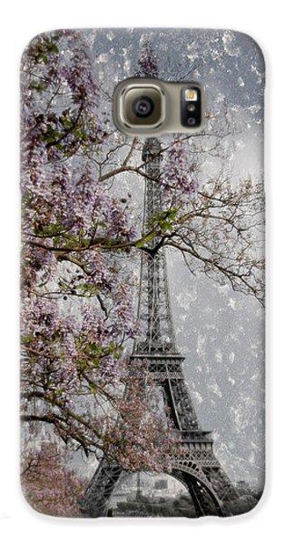 Printemps Parisienne Galaxy S6 Case by Joachim G Pinkawa