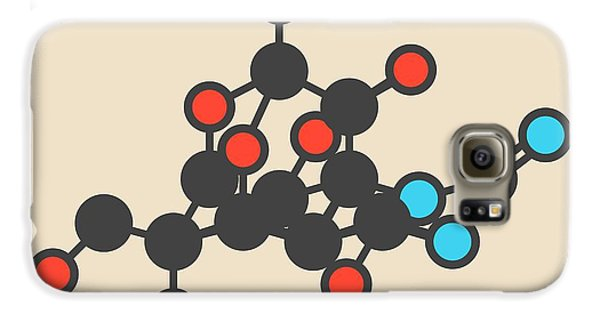 Pufferfish Neurotoxin Molecule Galaxy S6 Case by Molekuul