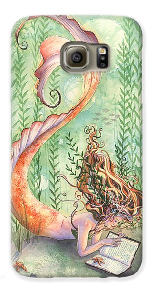Quiet Time Galaxy S6 Case by Sara Burrier