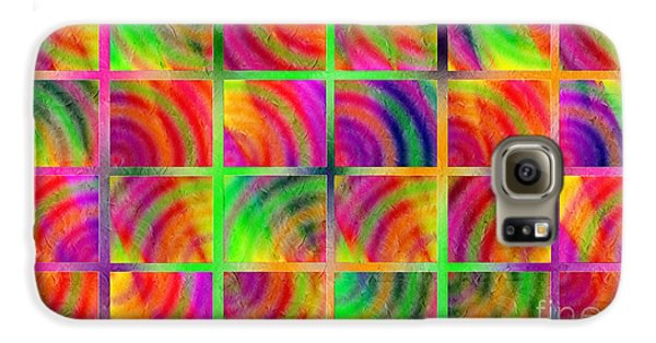 Rainbow Bliss 3 - Over The Rainbow H Samsung Galaxy Case by Andee Design