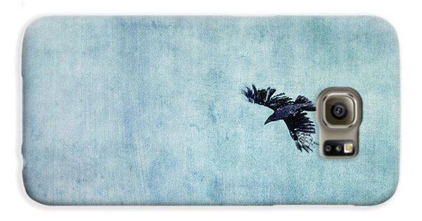 Ravens Flight Galaxy S6 Case by Priska Wettstein
