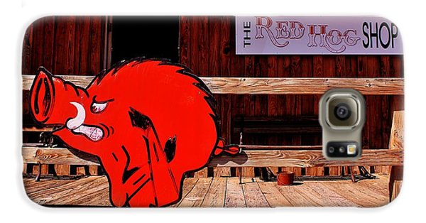 Razorback Country Galaxy S6 Case by Benjamin Yeager