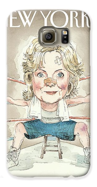 Ready For A Fight Galaxy S6 Case by Barry Blitt