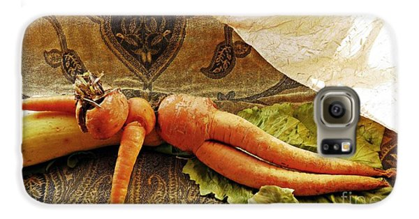 Reclining Nude Carrot Galaxy S6 Case by Sarah Loft