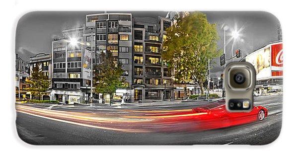 Red Lights Sydney Nights Galaxy S6 Case by Az Jackson