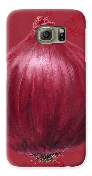 Red Onion Galaxy S6 Case by Brian James