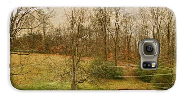 Red Shed Galaxy S6 Case by Paulette B Wright