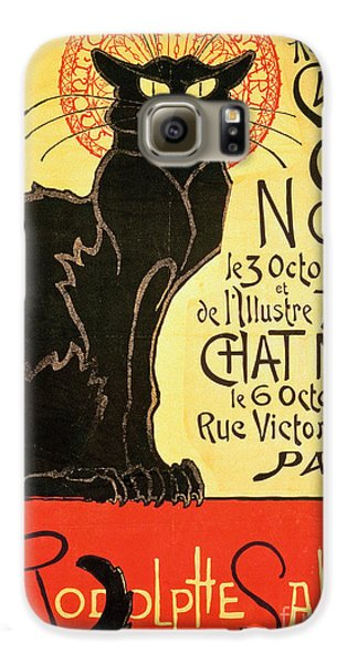 Reopening Of The Chat Noir Cabaret Galaxy S6 Case by Theophile Alexandre Steinlen