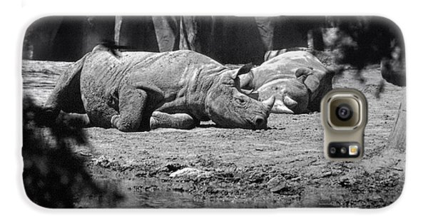 Rhino Nap Time Galaxy S6 Case by Thomas Woolworth