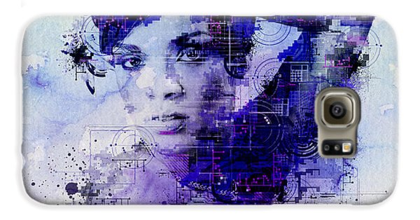 Rihanna 2 Galaxy S6 Case by Bekim Art