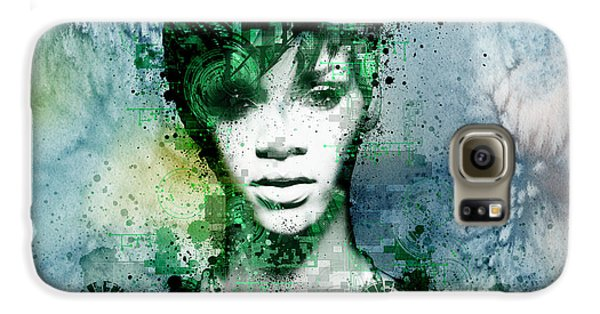 Rihanna 4 Galaxy S6 Case by Bekim Art
