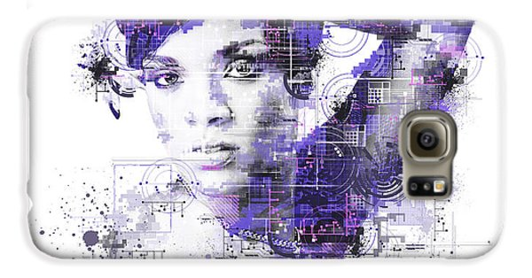 Rihanna Galaxy S6 Case by Bekim Art
