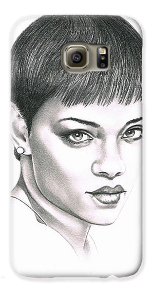 Rihanna Galaxy S6 Case by Murphy Elliott