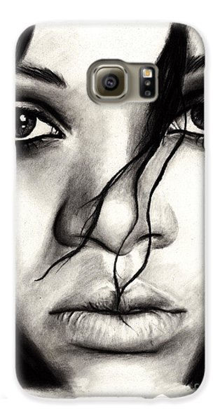 Rihanna Galaxy S6 Case by Rosalinda Markle