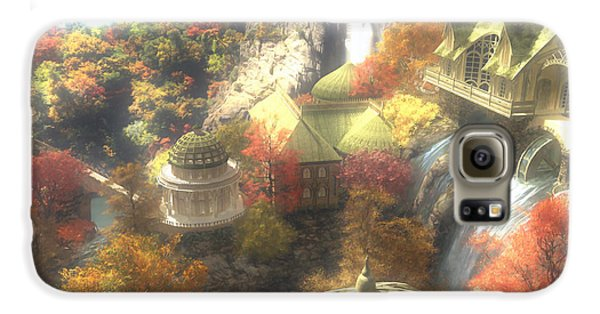 Rivendell Galaxy S6 Case by Cynthia Decker