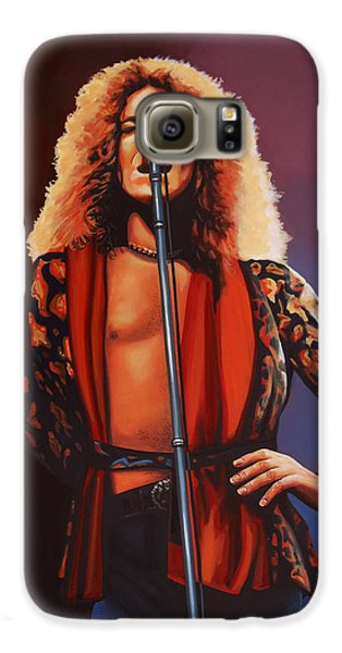 Robert Plant Of Led Zeppelin Galaxy S6 Case by Paul Meijering