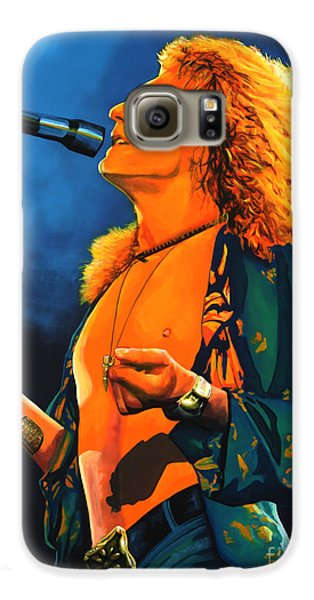 Robert Plant Galaxy S6 Case by Paul Meijering
