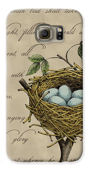 Robin's Nest Galaxy S6 Case by Christy Beckwith