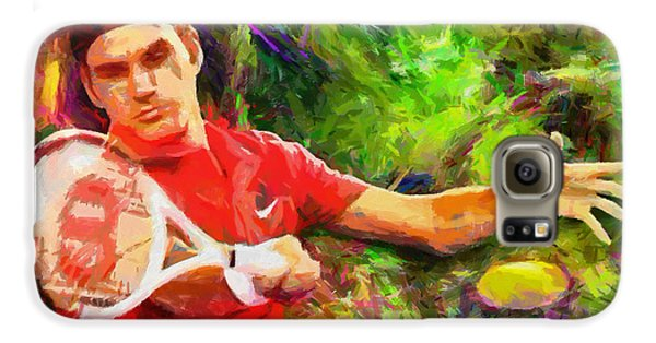 Roger Federer Galaxy S6 Case by RochVanh
