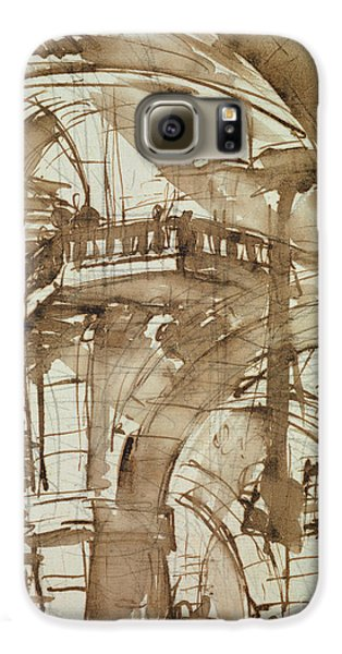 Roman Prison Galaxy S6 Case by Giovanni Battista Piranesi