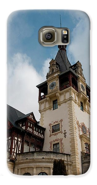 Romania Transylvania Sinaia Peles Castle Galaxy S6 Case by Inger Hogstrom