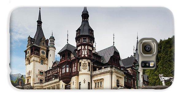 Romania, Transylvania, Sinaia, Peles Galaxy S6 Case by Walter Bibikow
